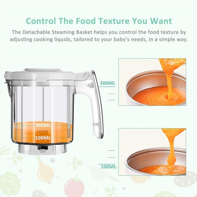 infanso BF300 7 in 1 baby food processor features