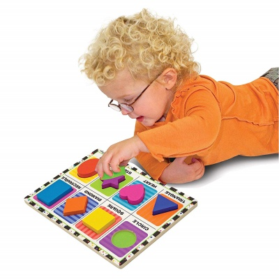 9 Month Old Toys Melissa Doug Shapes Puzzle Baby