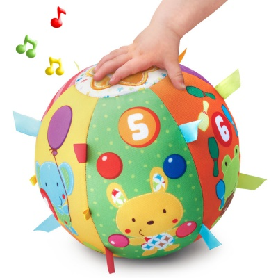 vTech lil' critters roll & discover ball sensory toy for toddlers sounds