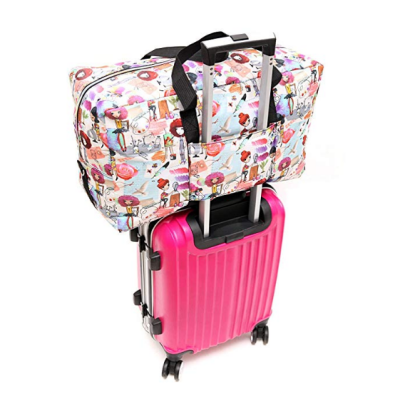 WFLB large foldable floral hospital bag luggage