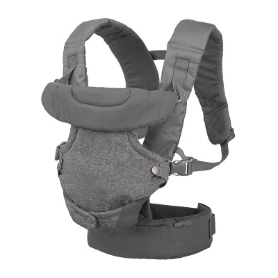 infantino flip 4-in-1 baby carrier grey
