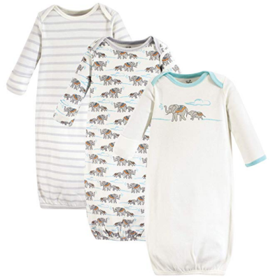 touched by nature baby pajamas animal print