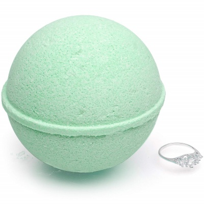 jackpot candles mermaid bath bomb for kids ring