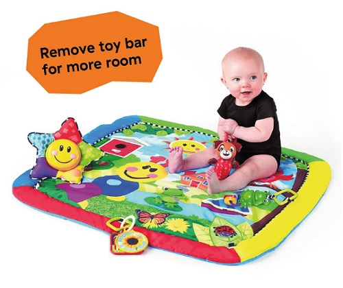 8 Month Old Toys Baby Einstein Caterpillar Play Gym Mat