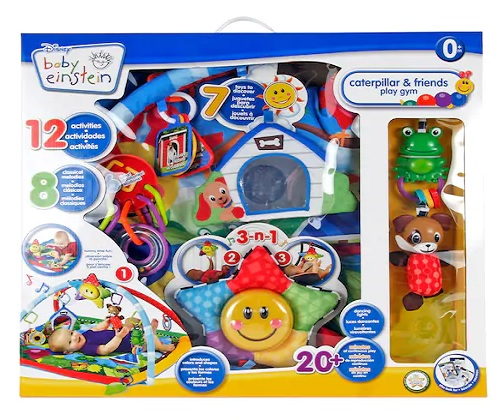 8 Month Old Toys Baby Einstein Caterpillar Play Gym Box