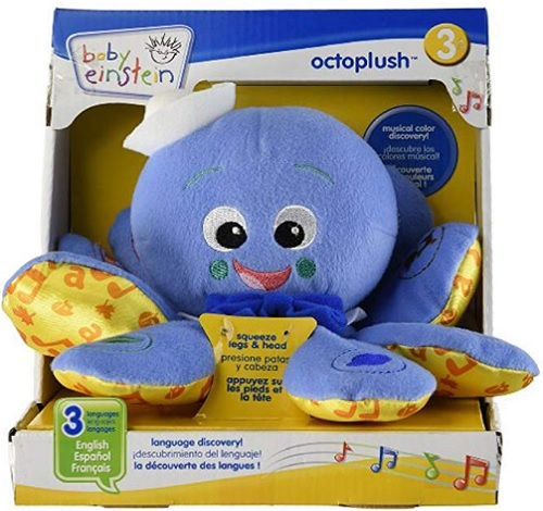 8 Month Old Toys Baby Einstein Octoplush Box
