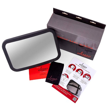 lusso gear baby car mirror features