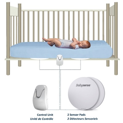 New Babysense Under The Mattress Baby Breathing Monitor how to use