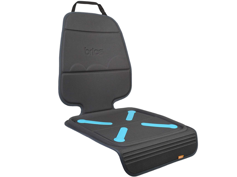 The Brica Seat Guardian is made of heavy-duty vinyl.