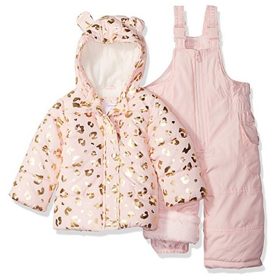 carter's girls' baby snowsuit heavyweight