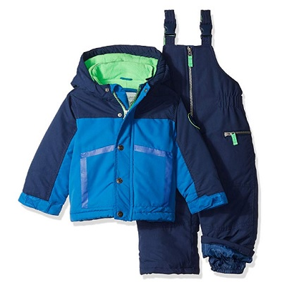 carter's boys' heavyweight baby snowsuit polyester