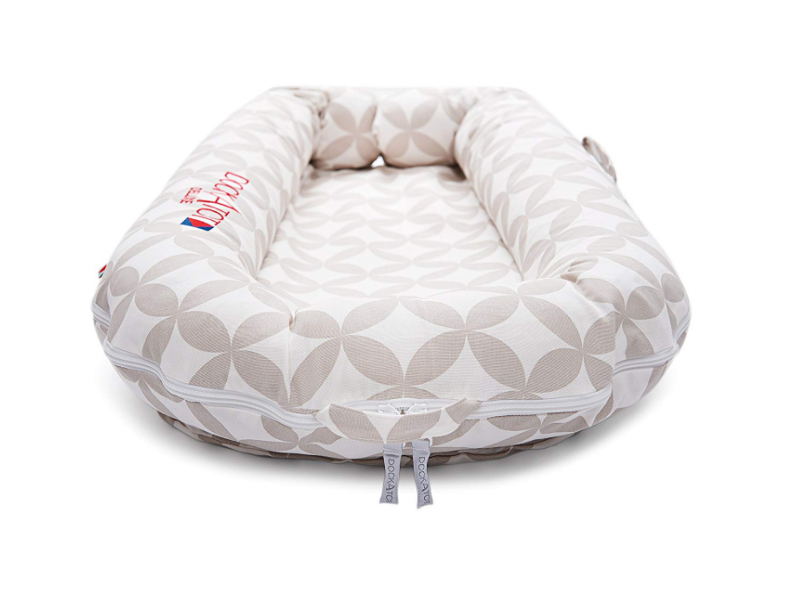 The DockATot Deluxe is a good choice for co-sleeping