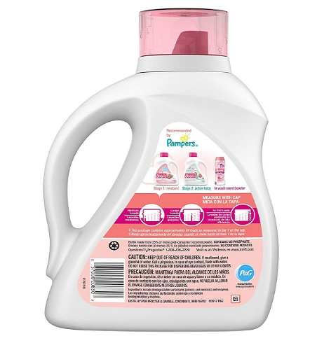dreft stage 1 newborn hypoallergenic baby laundry detergent ingredients