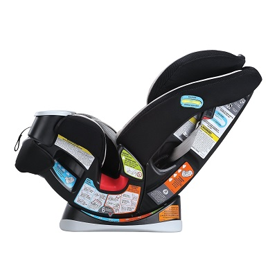 4Ever convertible graco car seat reclined