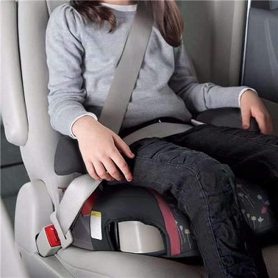 highback turbobooster graco car seat straps