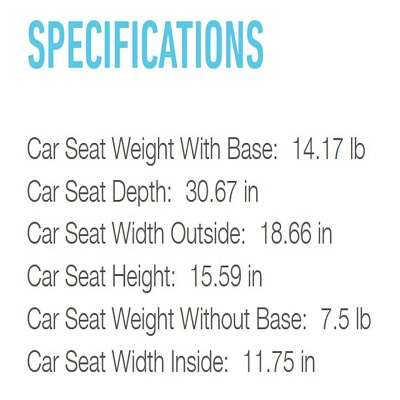 snugride 35 graco car seat specifics