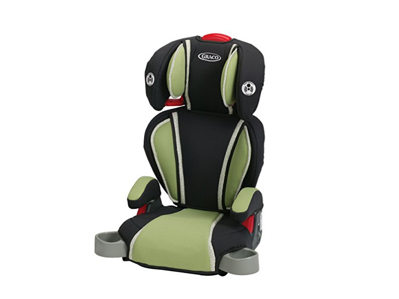 The Graco Highback Turbobooster Car Seat Go Green is convertible.