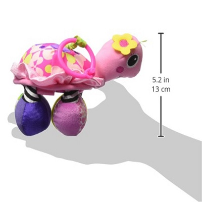 Infantino Sparkle Topsy Turtle car seat toy dimensions