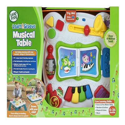 LeapFrog Learn and Groove Musical display