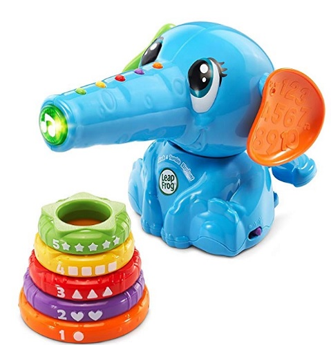 8 Month Old Toys LeapFrog Stack and Tumble Elephant Rings