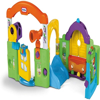 Best baby activity centers reviewed in 2019 - Little tikes activity garden baby playset ...