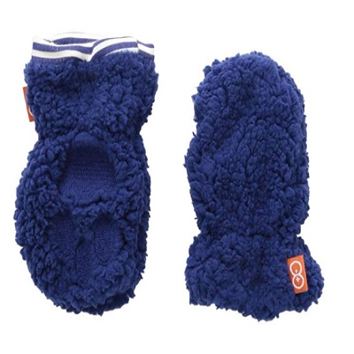 magnetic me so soft baby mittens blue