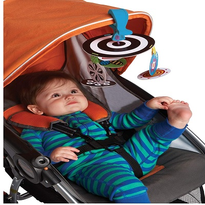 Manhattan Toy Wimmer-Ferguson car seat toy infant seat