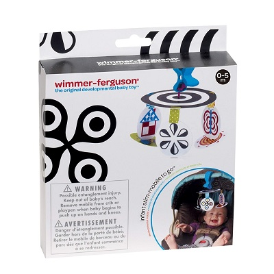 Manhattan Toy Wimmer-Ferguson car seat toy details