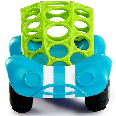 Oball Rattle N Roll Car Blue and Green Front