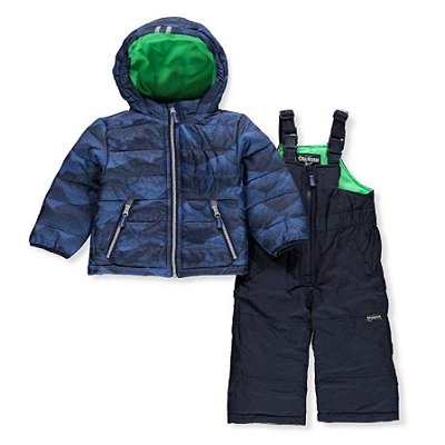 osh kosh b'gosh baby snowsuit two piece