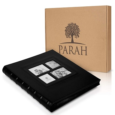 PARAH LIFE Multi-Directional family photo album boxed view