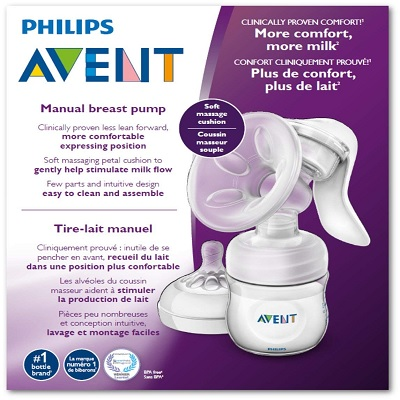 Philips Avent SCF330/30 Manual breast pump box