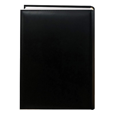 Pioneer Embossed Sewn Leatherette family photo album  rear view