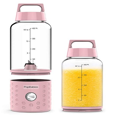 popBabies baby food processor portable