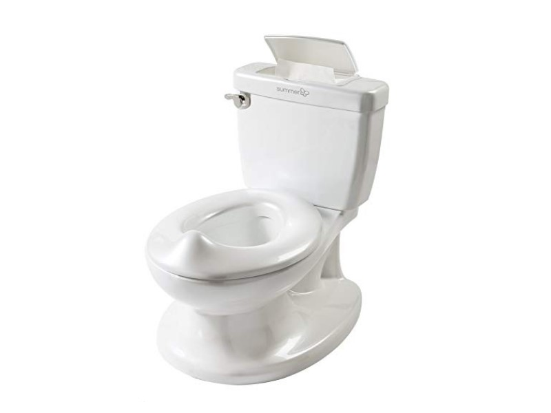The Summer Infant My Size Potty has realistic features.