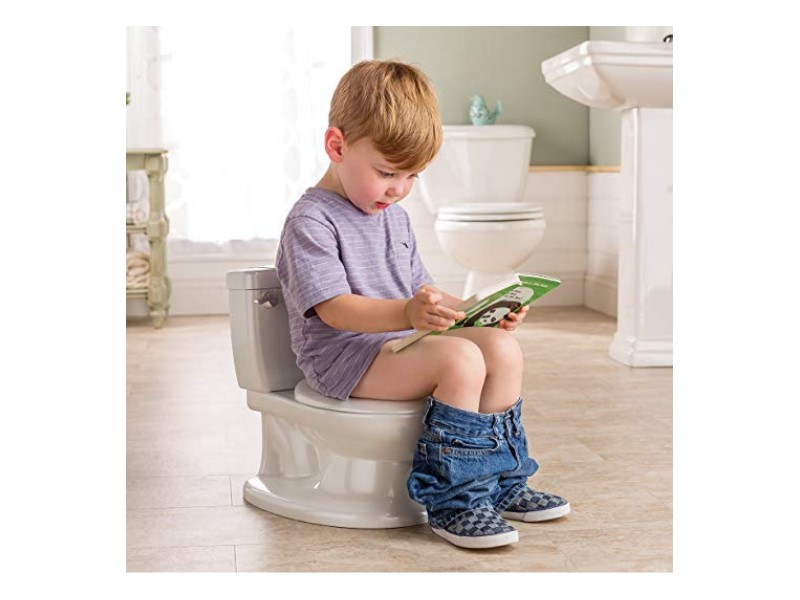 The Summer Infant My Size Potty has an interactive toilet handle.