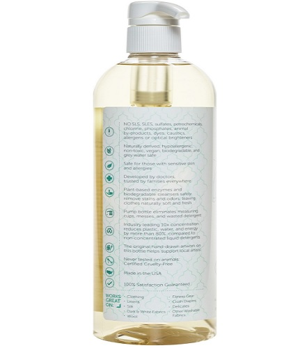 puracy natural liquid 192 loads baby laundry detergent ingredients