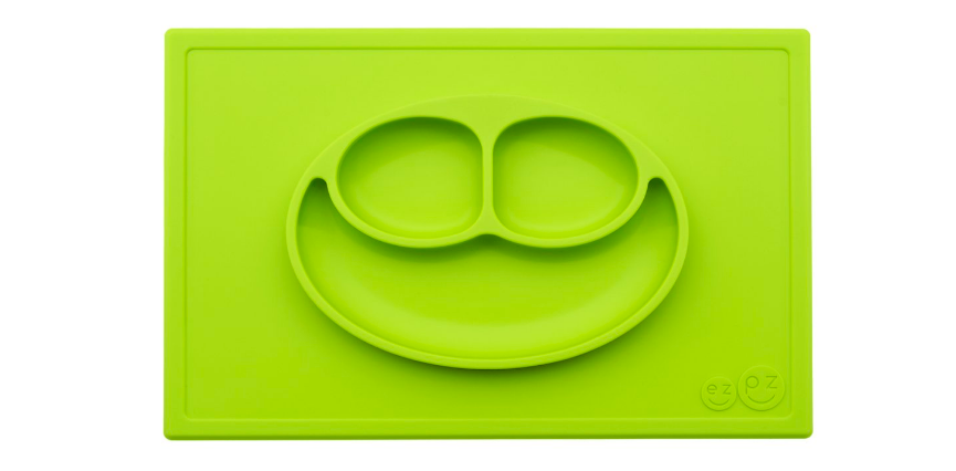 The ezpz Happy Mat is made from a high-quality, food-safe silicone.