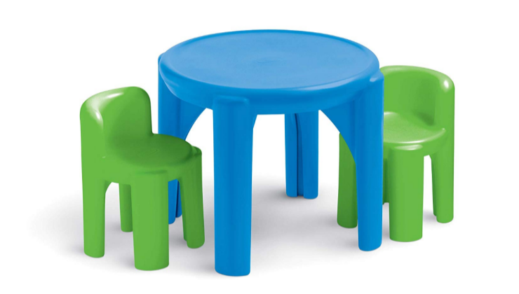 Little Tikes Bright N' Bold Table and Chairs playset