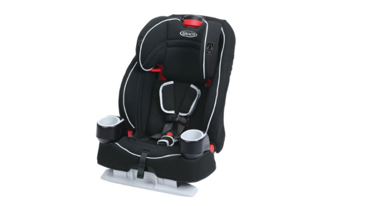TheGraco Atlas 65 is a 2-in-1 convertible car seat.