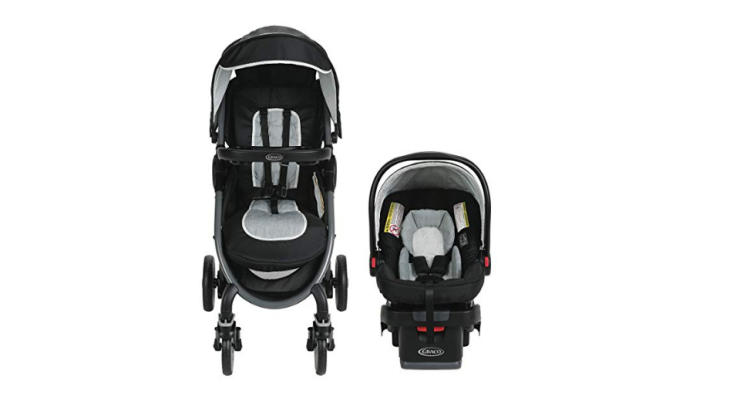 The Graco FastAction Travel System is a stroller and a car seat.