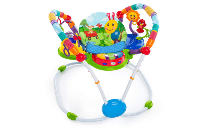 The Baby Einstein Neighborhood Friends Activity Jumper