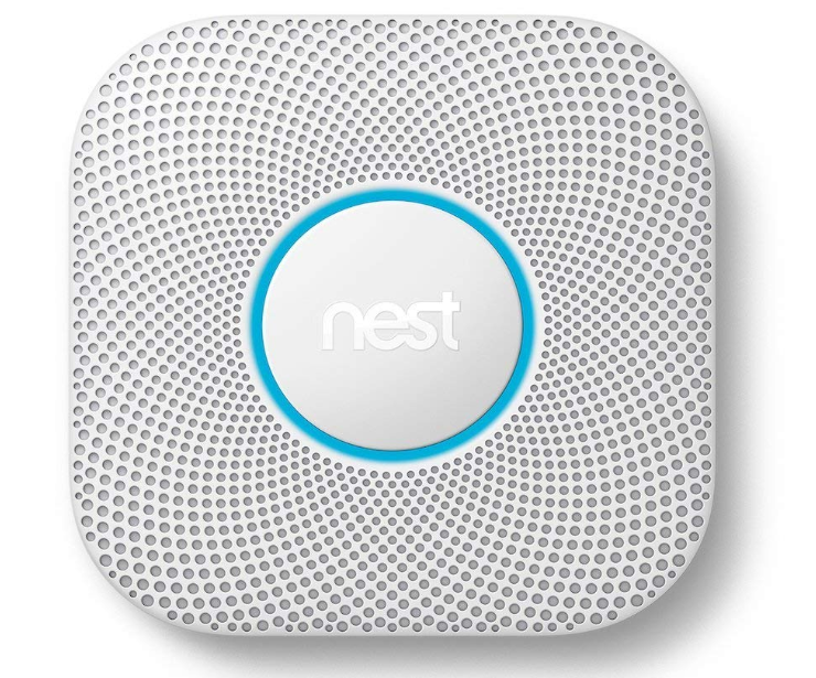 The Nest Protect features a highly-sensitive sensors.