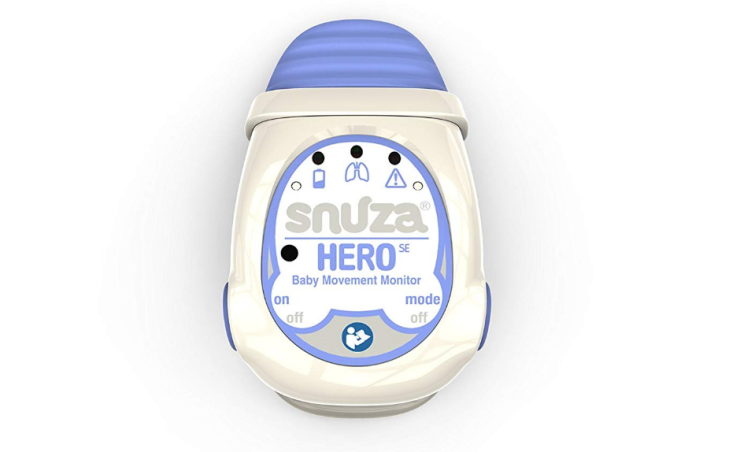 The Snuza Hero is fully wireless, no cords or wires needed.