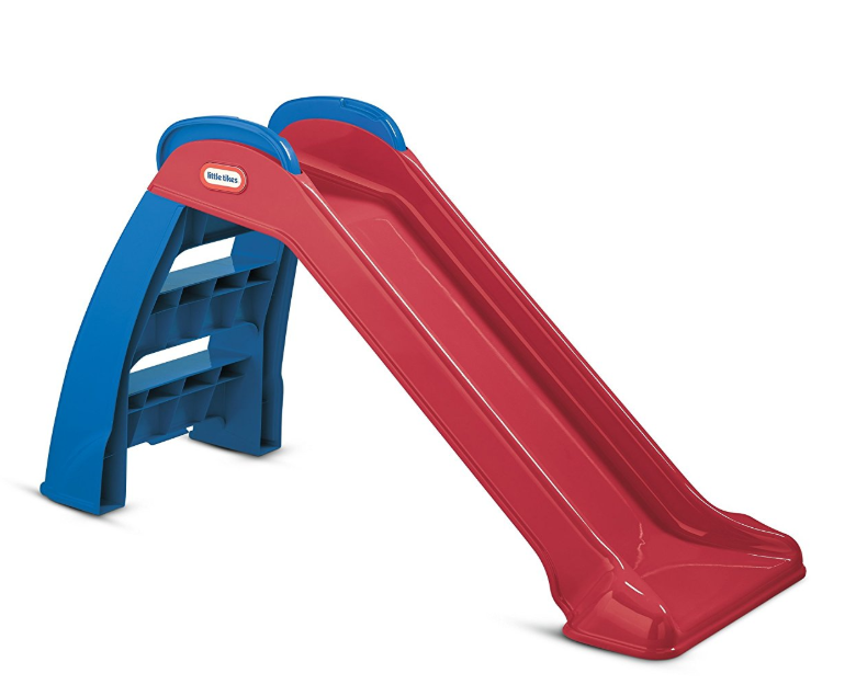 Little Tikes First Slide can be used both indoors and outdoors.