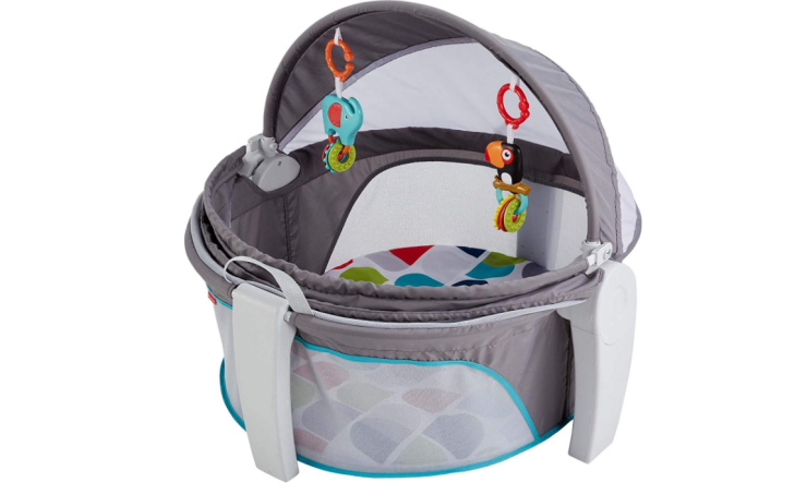 The Fisher-Price On-The-Go Baby Dome has a great design.