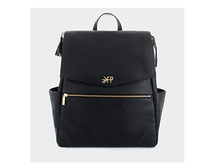 The Freshly Picked Diaper Bag is made of quality leather.