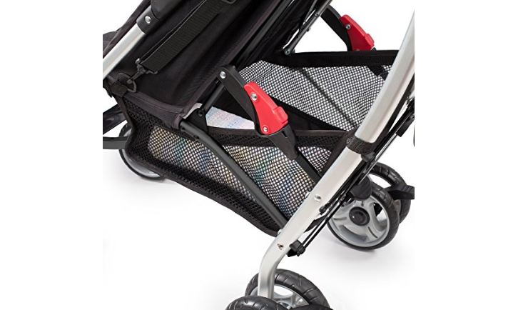 The Summer Infant 3D Lite has a convenient storage space.