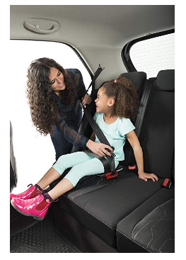 The mifold  booster is ideal for taxi rides, carpooling and traveling.