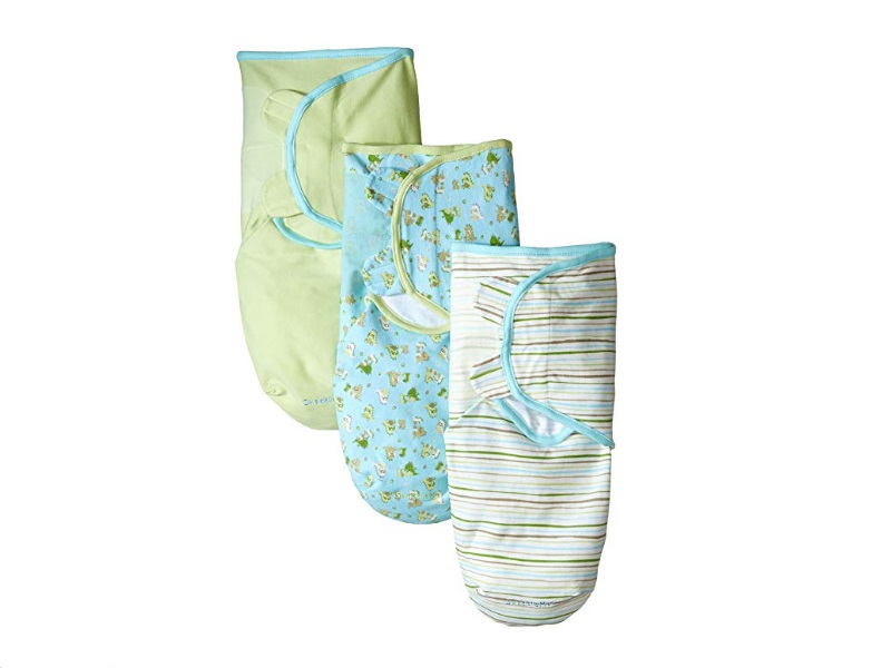 The Summer Infant SwaddleMe swaddler is soft and comfortable.
